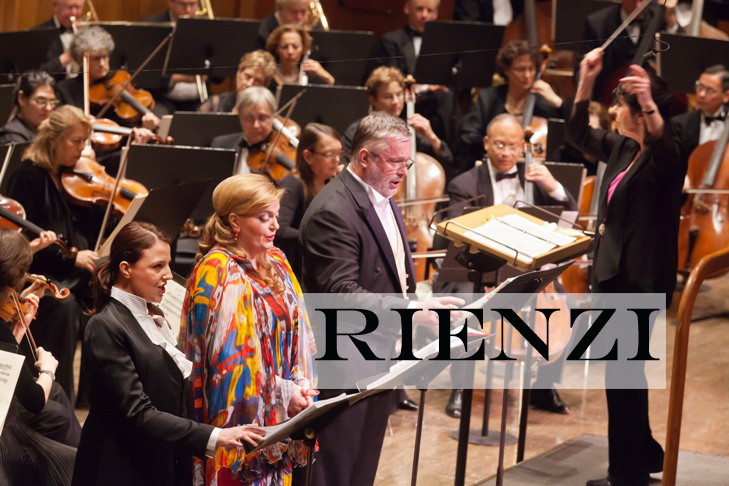 Eve Queler conducts the Opera Orchestra of New York in Wagner's